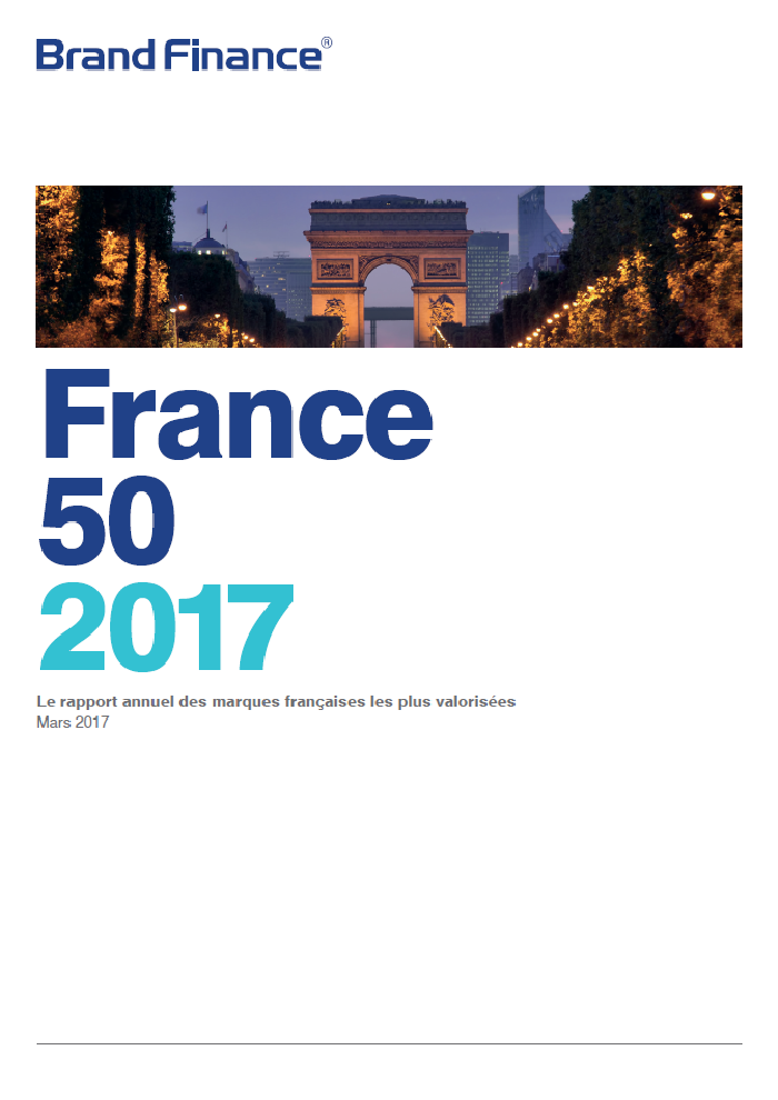 Brand Finance France 50 2017
