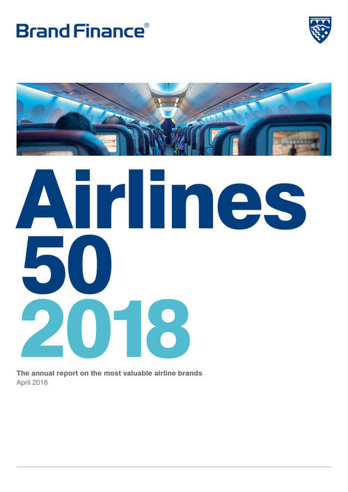 Brand Finance Airlines 50 2018