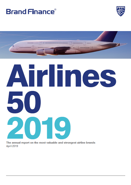 Brand Finance Airlines 50 2019