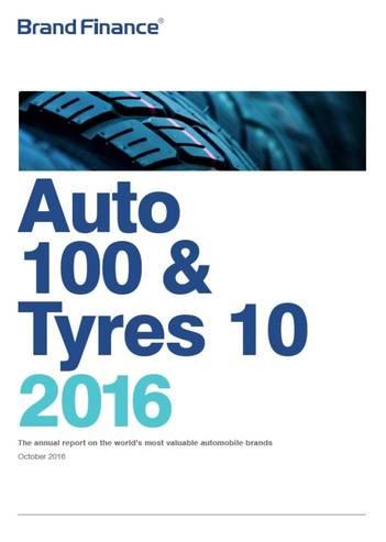 Brand Finance Auto 100 & Tyres 10 2016