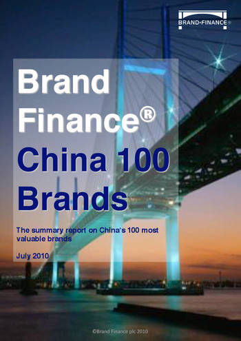 Brand Finance China 100 Brands