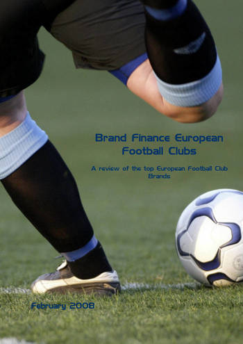 Brand Finance Top 20 Most Valuable European Football Club Brands 2008