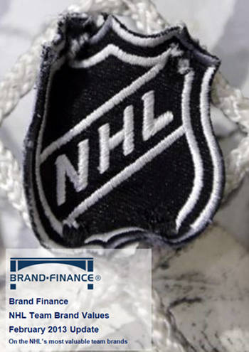 BrandFinance® NHL Team Brand Values - February 2013 Update