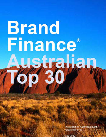 Brand Finance® Australia Top 30 in 2012