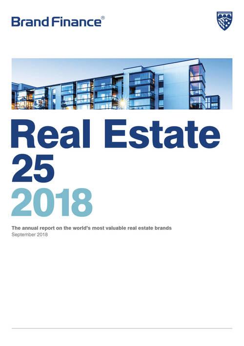 Brand Finance Real Estate 25 2018