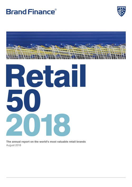 Brand Finance Retail 50 2018