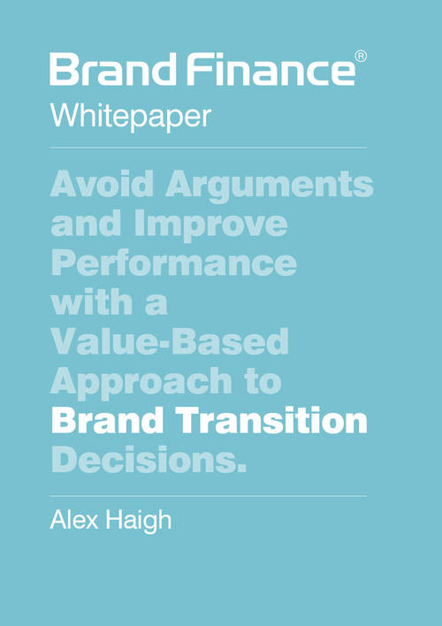 Value-Based Approach to Brand Transition Decisions