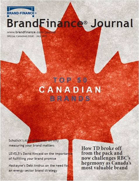 Brand Finance Journal: Canadian Issue