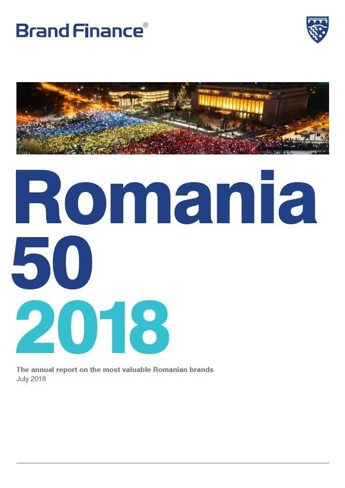 Brand Finance Romania 50 2018