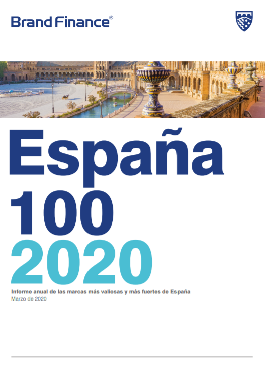 Brand Finance España 100 2020