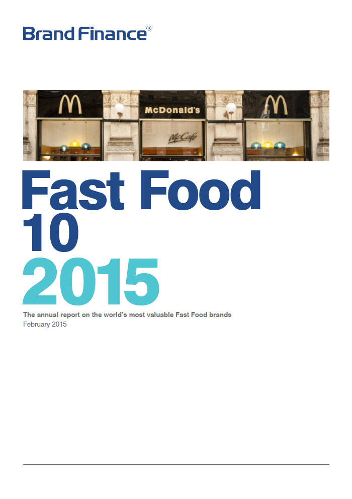 Brand Finance Fast Food 10 2015