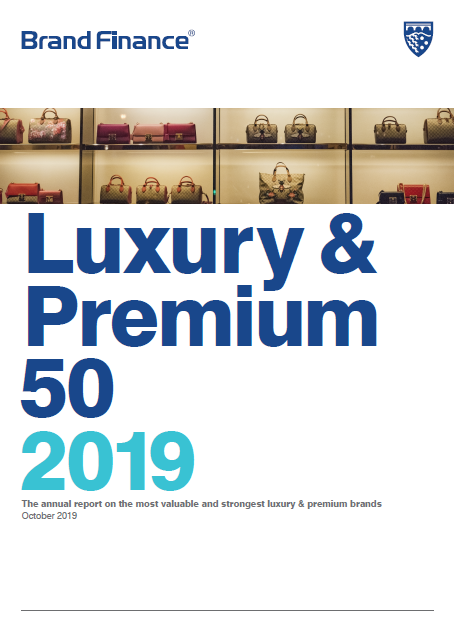 Brand Finance Luxury & Premium 50 2019