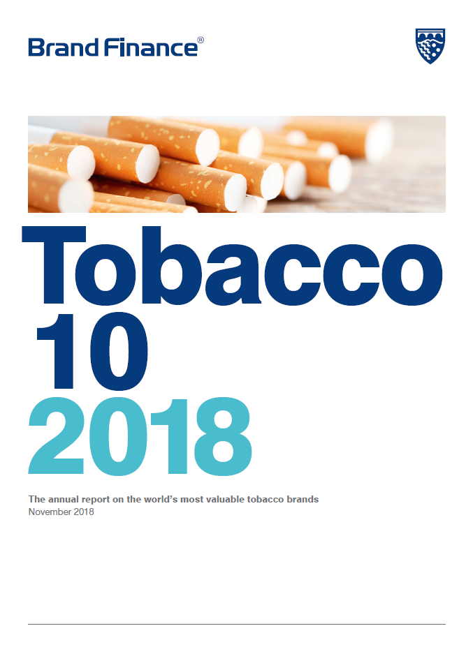 Brand Finance Tobacco 10 2018