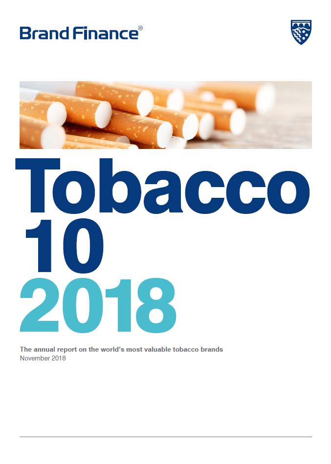 Brand Finance Tobacco 10 2018