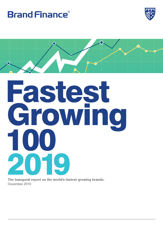 Brand Finance Fastest Growing 100 2019