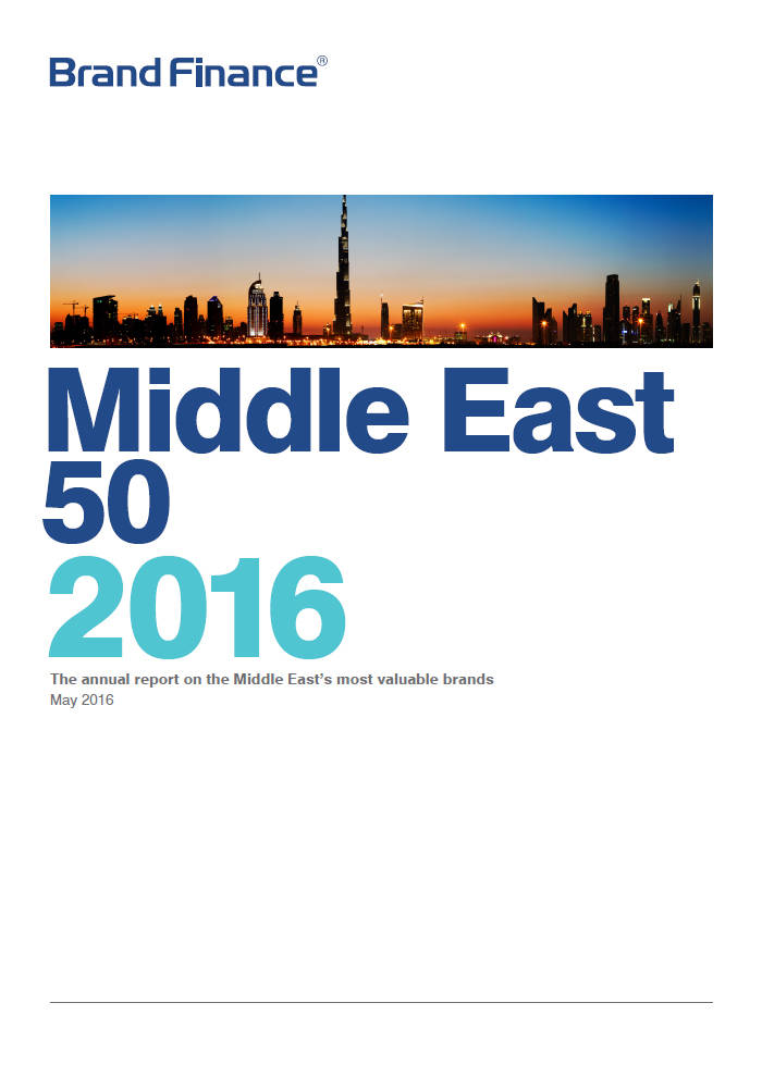 Brand Finance Middle East 50 2016