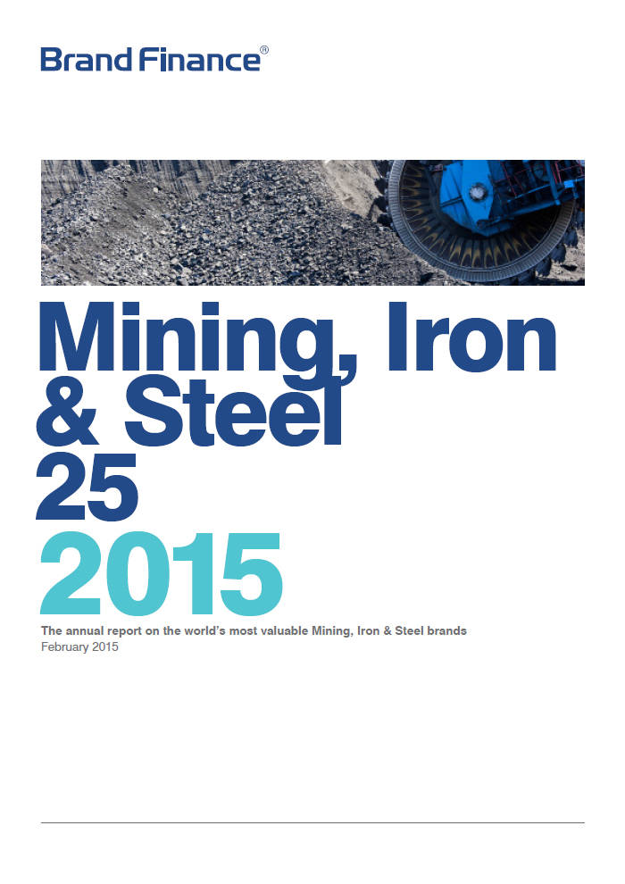 Brand Finance Mining, Iron & Steel 25 2015