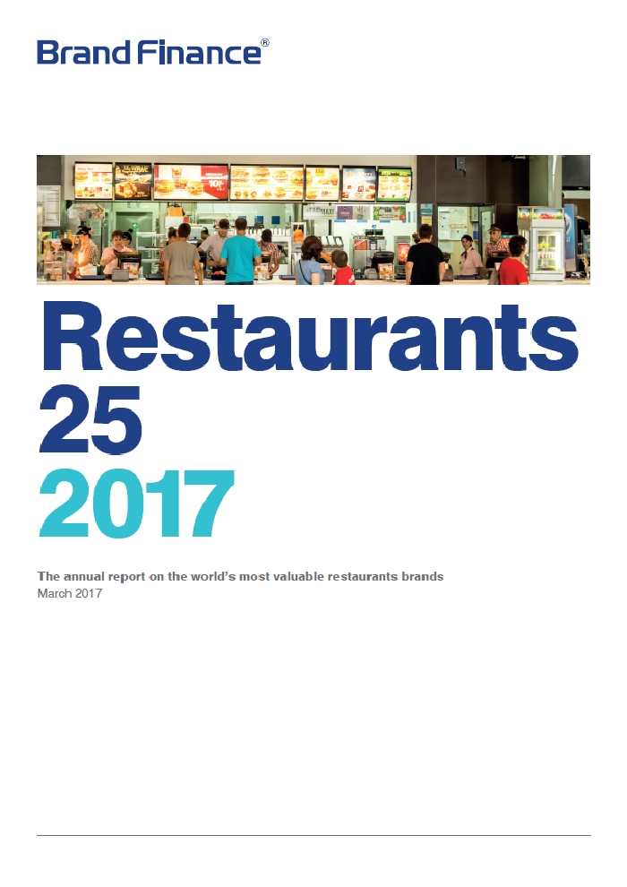 Brand Finance Restaurants 25 2017