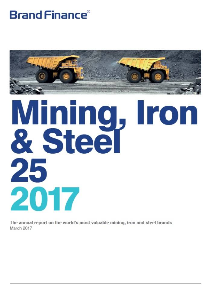 Brand Finance Mining, Iron & Steel 25 2017