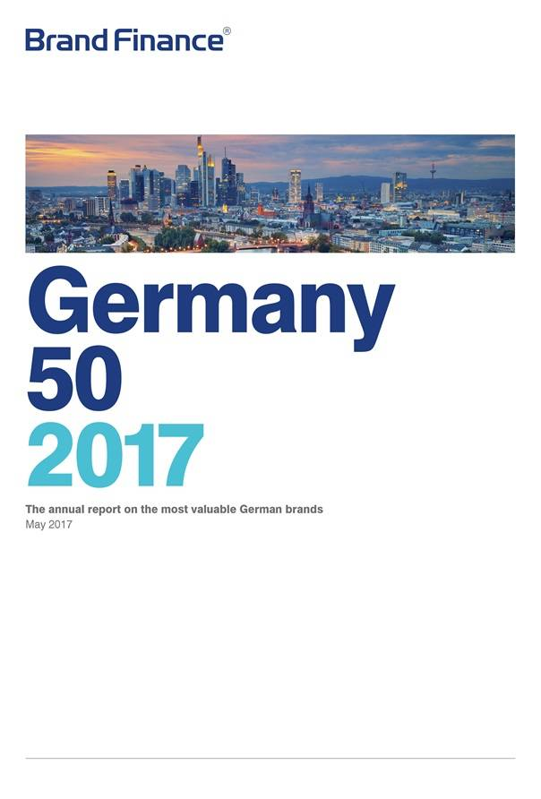 Brand Finance Germany 50 2017