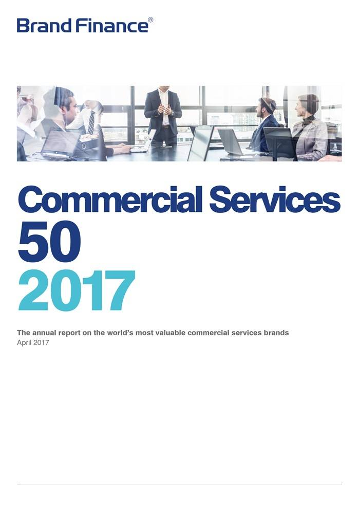 Brand Finance Commercial Services 50 2017