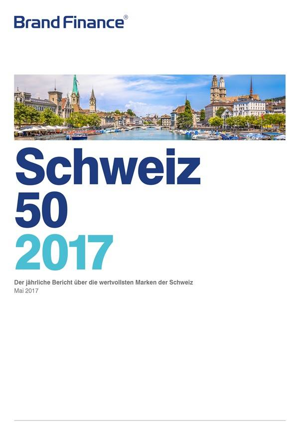 Brand Finance Schweiz 50 2017