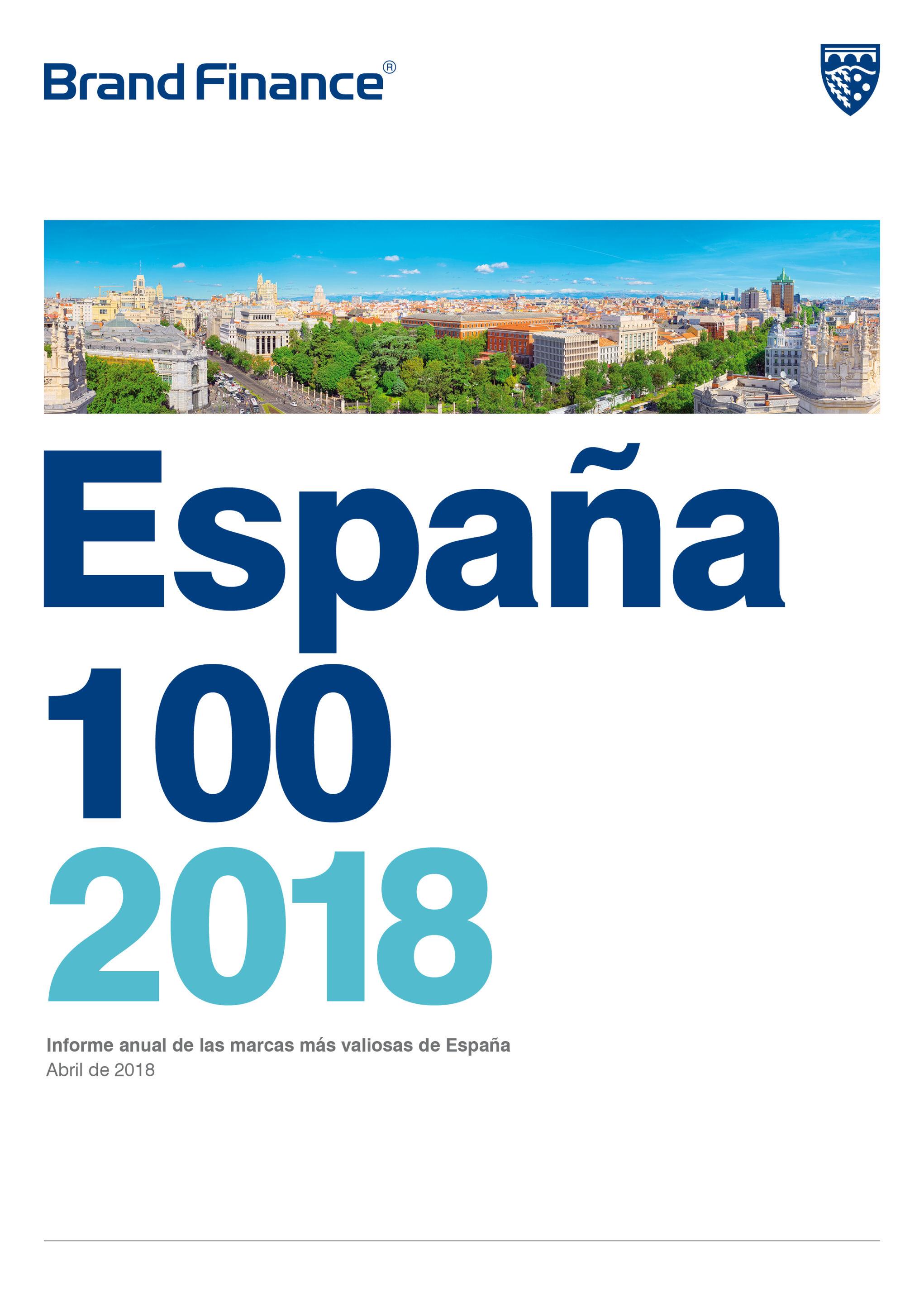 Brand Finance Spain 100 2018