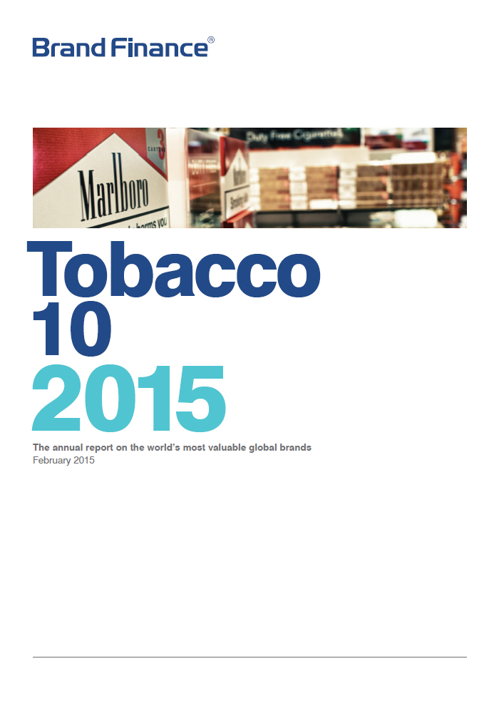 Brand Finance Tobacco 10 2015