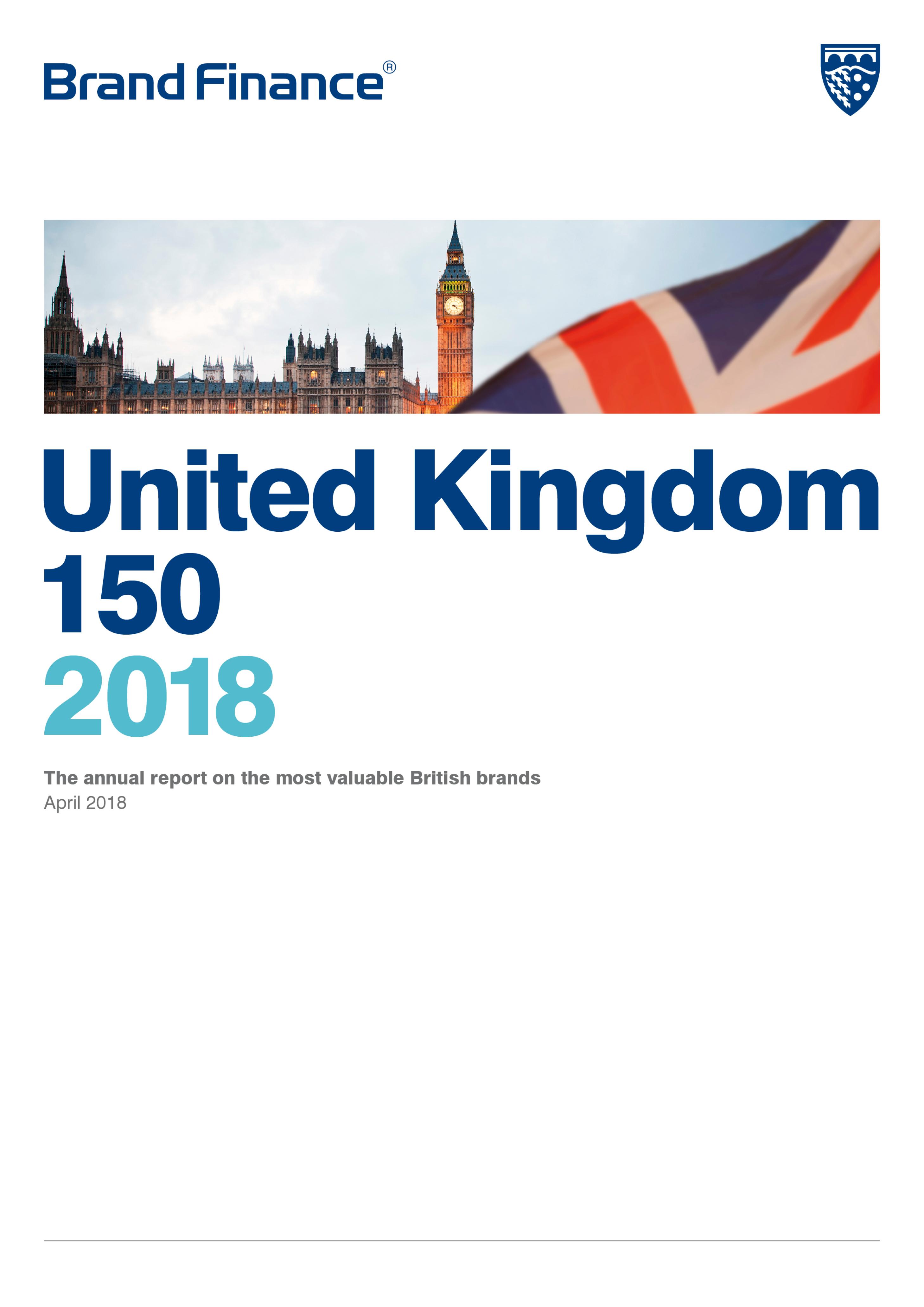 Brand Finance United Kingdom 150 2018