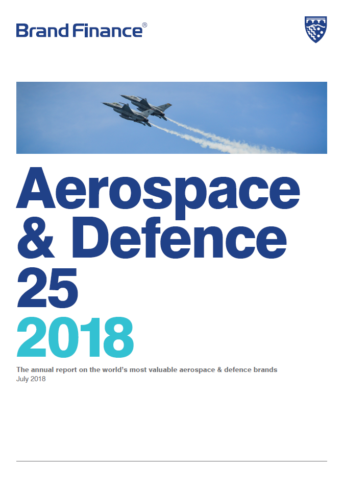 Brand Finance Aerospace & Defence 25 2018