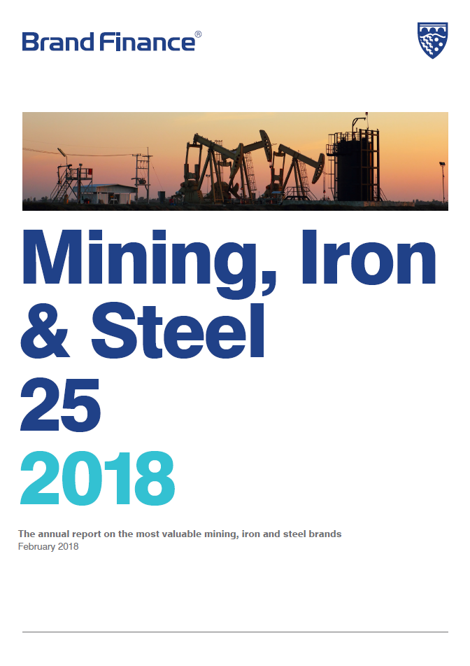 Brand Finance Mining, Iron & Steel 25 2018