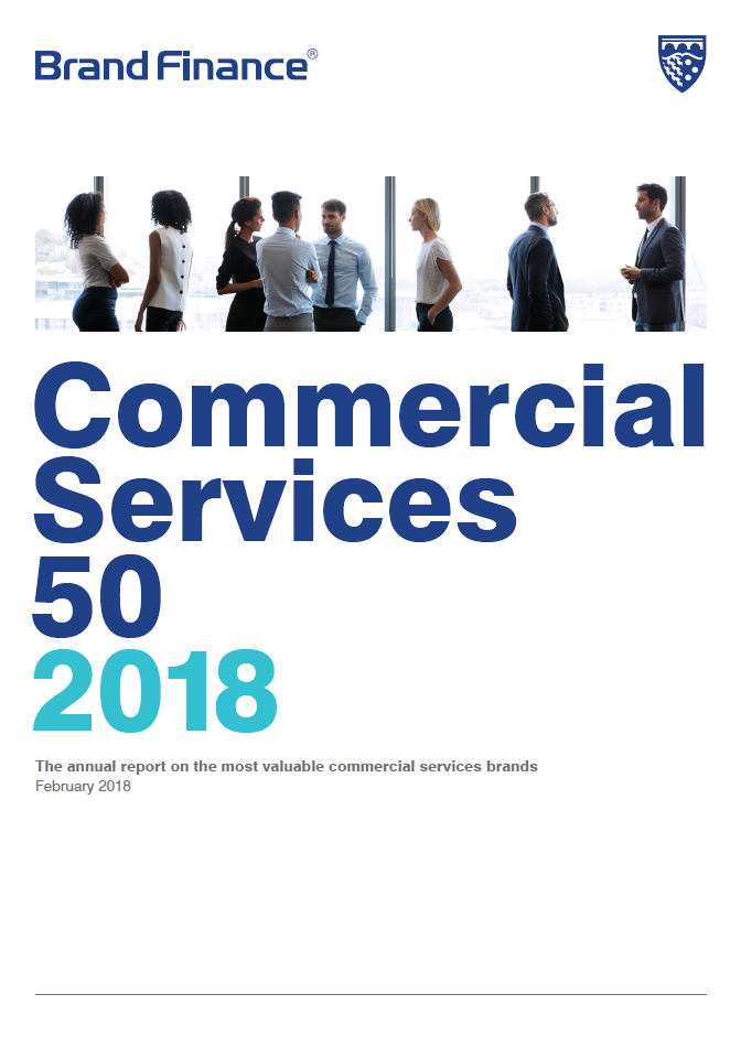 Brand Finance Commercial Services 50 2018