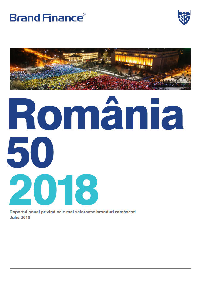 Brand Finance România 50 2018