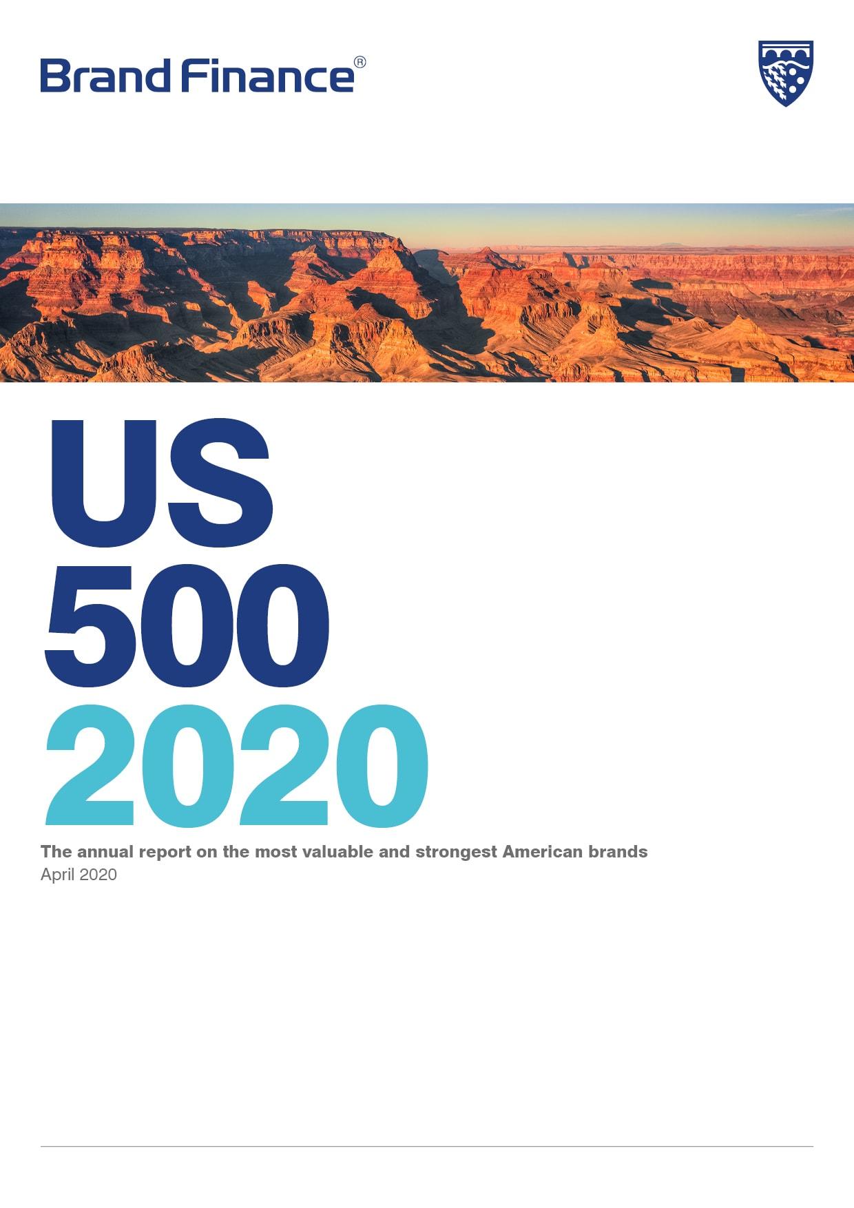 Brand Finance US 500 2020