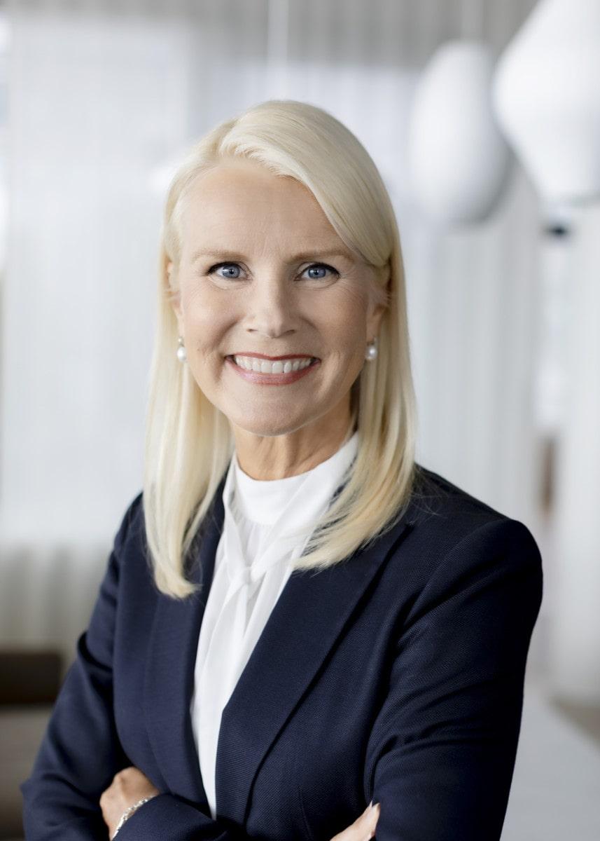 Minna Aila, SVP, Sustainability, Public Affairs, Communications and Brand, Neste