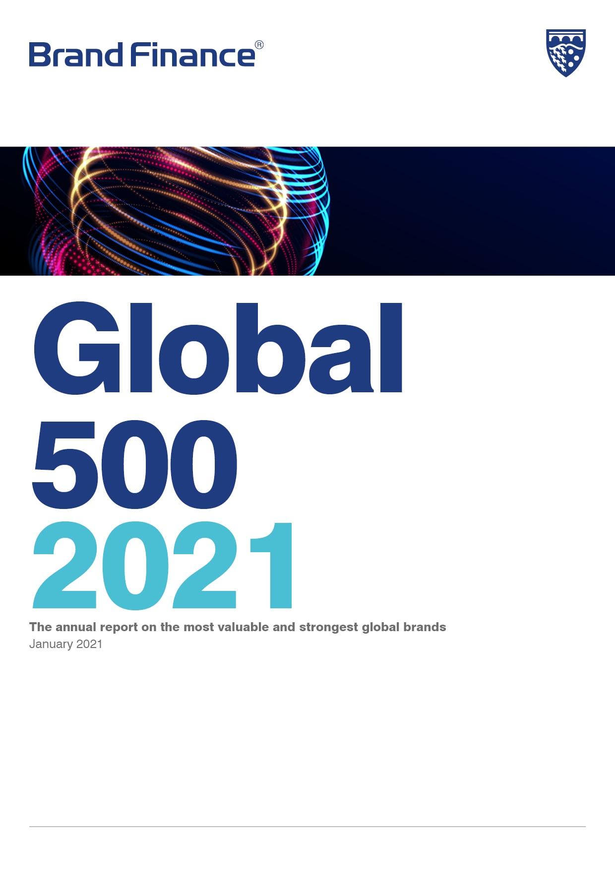 Brand Finance Global 500 2021