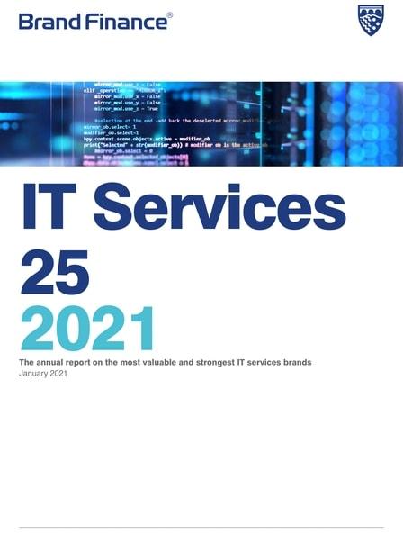 Brand Finance - IT Services 25 2021