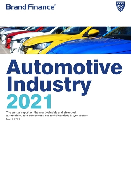 Brand Finance Automotive Industry 2021