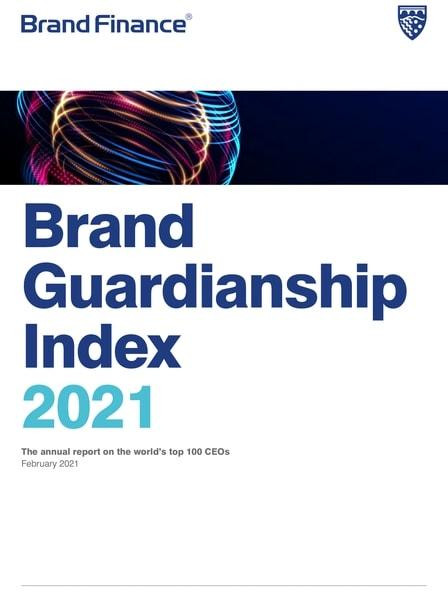 brand guardianship report cover