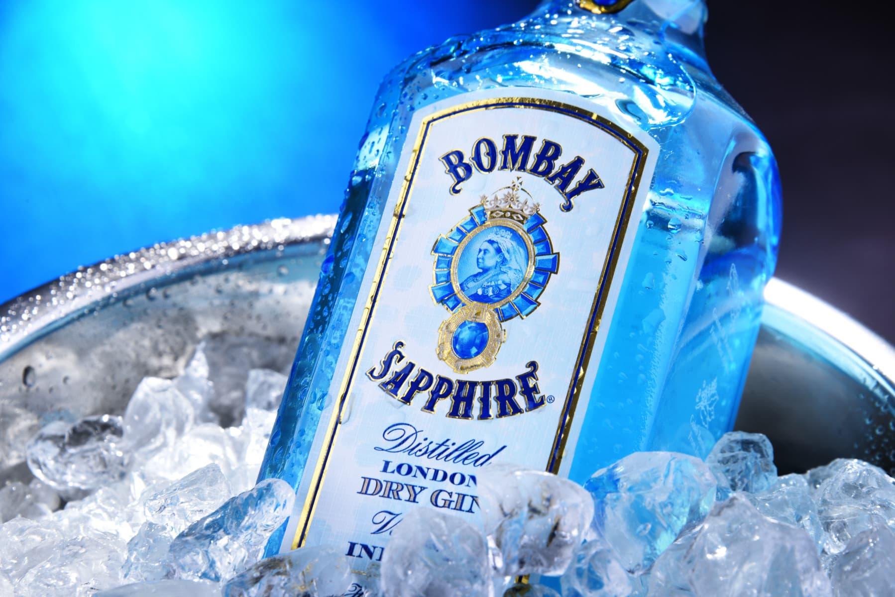 bombay gin drinks