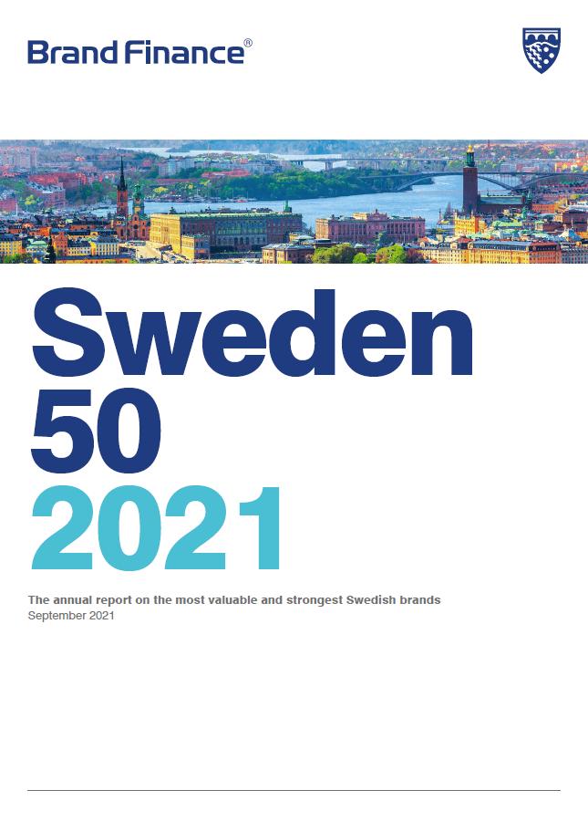 Brand Finance Sweden 50 2021
